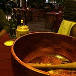 Caesar's salad prepared table side...incredible