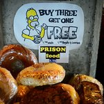 Day-old food passed off as prison food.