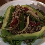 Quinoa salad (without goat cheese)