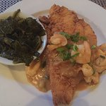Cornmeal Fried Catfish and Country Fried Chicken