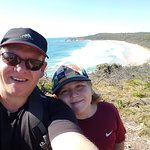 a walk out to hells gate in Noosa headlans