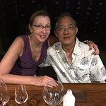 At the Wine Bar in Aruba!