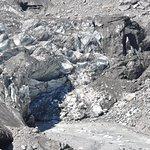 Glacial river at the base of Fox Glacier