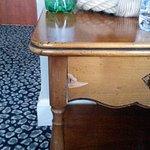 Mauvais état des meubles