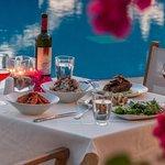 Fine dining at Stelida Restaurant