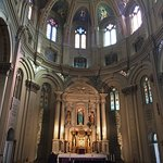 Inside the beautiful Old St. Mary's Catholic Church