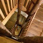 Blick von oben ins Treppenhaus