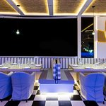 Our stylish dining terrace