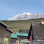 Kilimanjaro from Horombo Camp