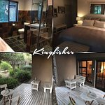 Room only sleeps 2,  it has no kitchen or braai facilities but only a bar fridge and coffee/tea