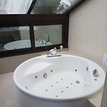 Jacuzzi in the room