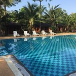 Absolutely wonderful freshwater outdoor pool at Raks Thai Ao Nang in Krabi