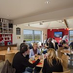 Inside Taste Cafe at Chesil Beach