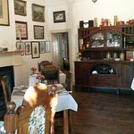 Dining room - full of interesting historical items