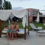 Pool area of Entre Cielos