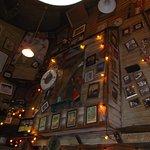 Dining area memorabilia....