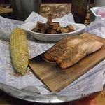 Cedar Roasted Salmon...yum.