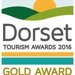 Taste Brasserie Dorset Tourism Gold Award for Cafe & Tearoom 2016.