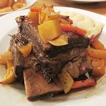Slow Braised Beef Short Rib - The Bell Old Sodbury (03/Mar/17).