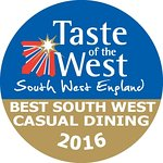 'Winner of Best SW Casual Dining' 2016 Taste of the West.