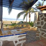 View from the veranda of the casita