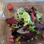 Seared Pigeon & Hazelnut Salad