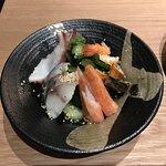 Suno mono moriawase. Assorted vinegared seafoods