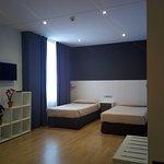 Habitación Familiar 4 camas de 1.05 en 2 habitaciones +1 baño