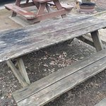 Rotted Picnic Table