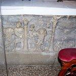 Face du sarcophage (martyre de Paul et arrestation de Pierre)