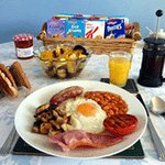 Full English - Your choice of breakfast will be freshly prepared from mainly local produces