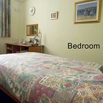 Bedroom 1 (Twin or Single) - For our disabled guest we have a ramp access