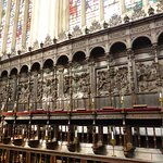 Some of the choir stalls