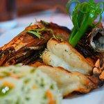 Outstandingly good jumbo prawns!