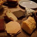 Three cheese plate