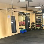 Spacious areas perfect for boxing, stretching and HIIT workouts!