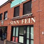 Sinn Fein Office from Black Taxi Tour