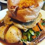 Pork roast dinner