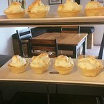 Great homemade lemon pies are done every Friday afternoon