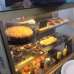 Sample of our homemade cakes and desserts.