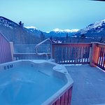 View from balcony King Jacuzzi Suite (Winter)