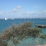 Round the Island race & Totland pier