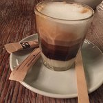 Espresso condensada (with condensed milk) - works very well with churros!