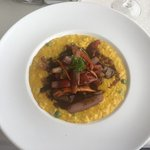 lomo saltado with risotto