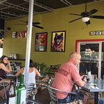 Kool Beans Cafe patio