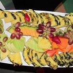 Fruit Platter...a nice healthy buffet dessert.