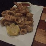 Calamari and shrimp appetizer !