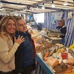 Farmers market with chef Phillipe