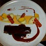 Delicious Braised Dedham Vale beef bavette