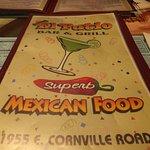 El Patio's menu
